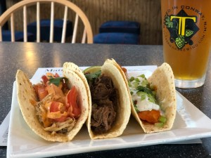 cold beer and tacos.