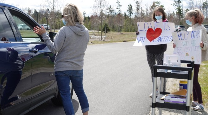 Mount Washington Valley Adult Day Center Cookie Drive Through